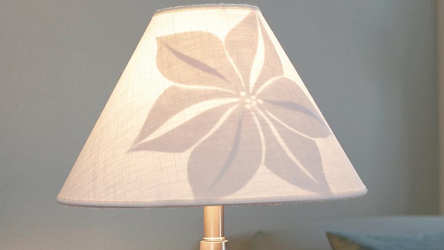 Artful lampshade