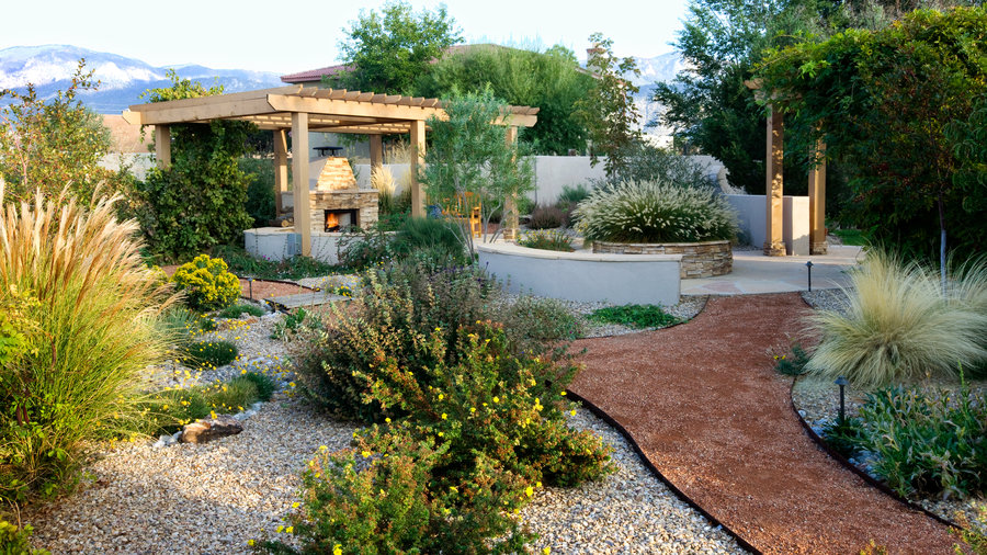 Desert Garden Escape - Sunset Magazine on Southwest Backyard Ideas id=77187
