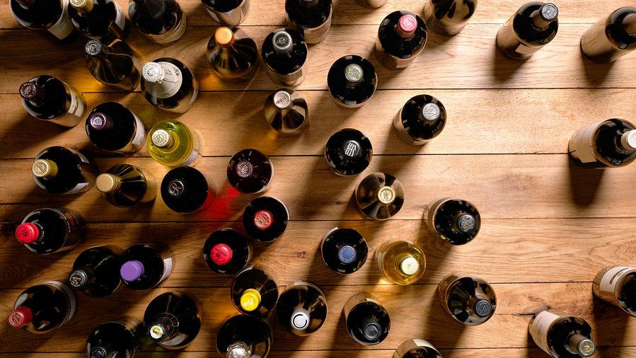 Wine-aisle rescue