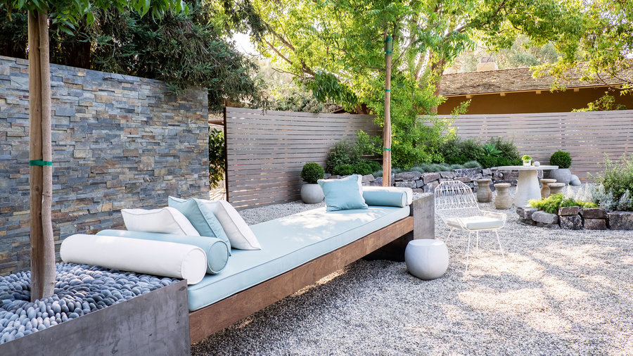 How to design a low water zen garden sunset magazine sunset magazine - Zen garten miniatur set ...