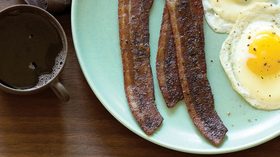 Coffee Brown Sugar Bacon