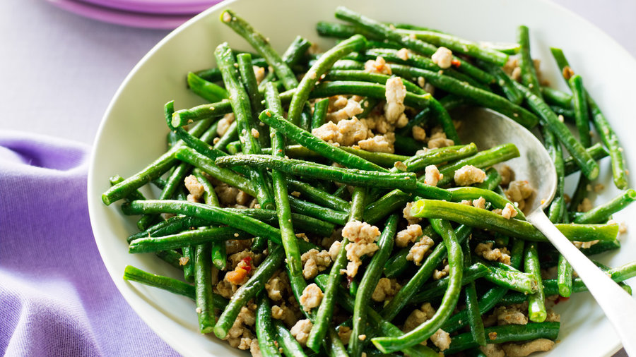 Stir-Fried Pork and Long Beans