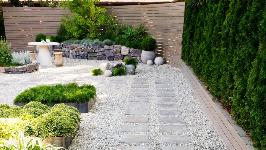 How to Design a Low-Water Zen Garden - Sunset Magazine ... on Zen Front Yard Ideas id=25134