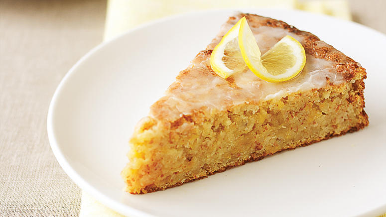 Meyer lemons: Meyer-Lemon Cake (0115)