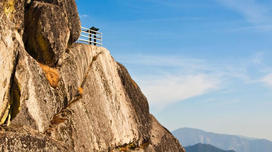 Moro Rock in the California Sierra Nevada