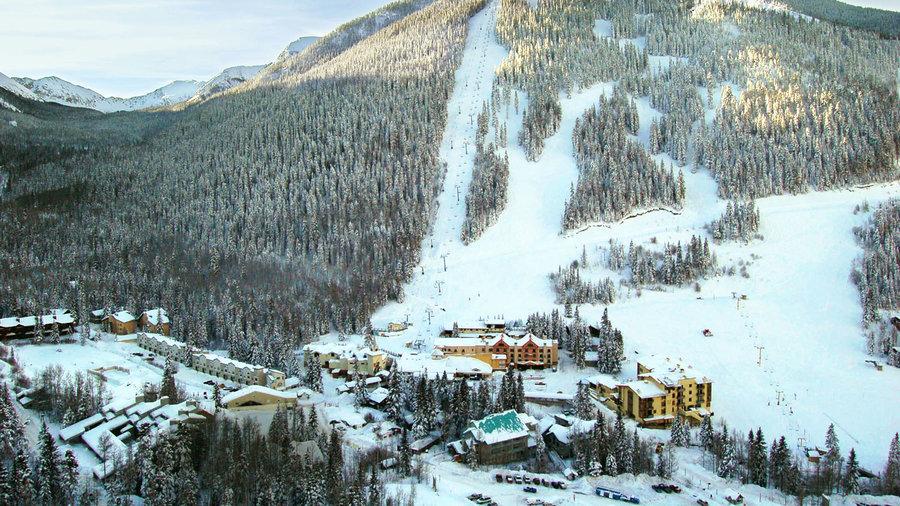 Scenic view of Taos Ski Valley