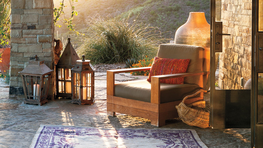 18 Ideas For Styling Outdoor Rugs Sunset Magazine