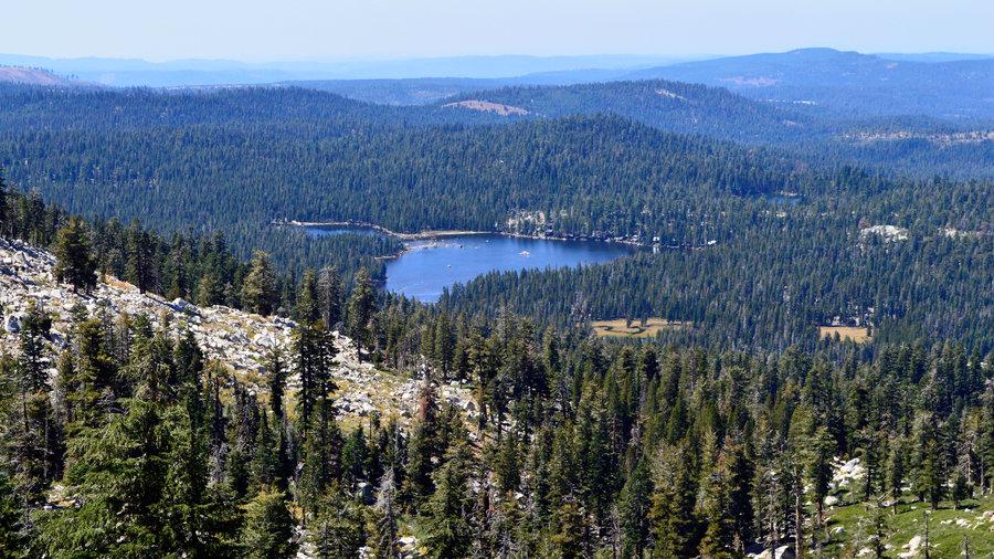 Wrights Lake Trailhead in the California Sierra Nevada