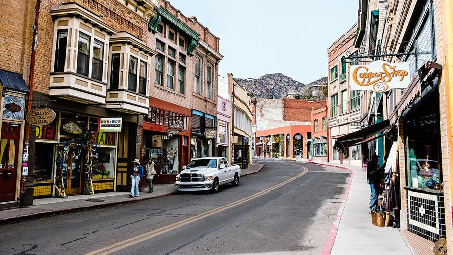 Bisbee's Main Street