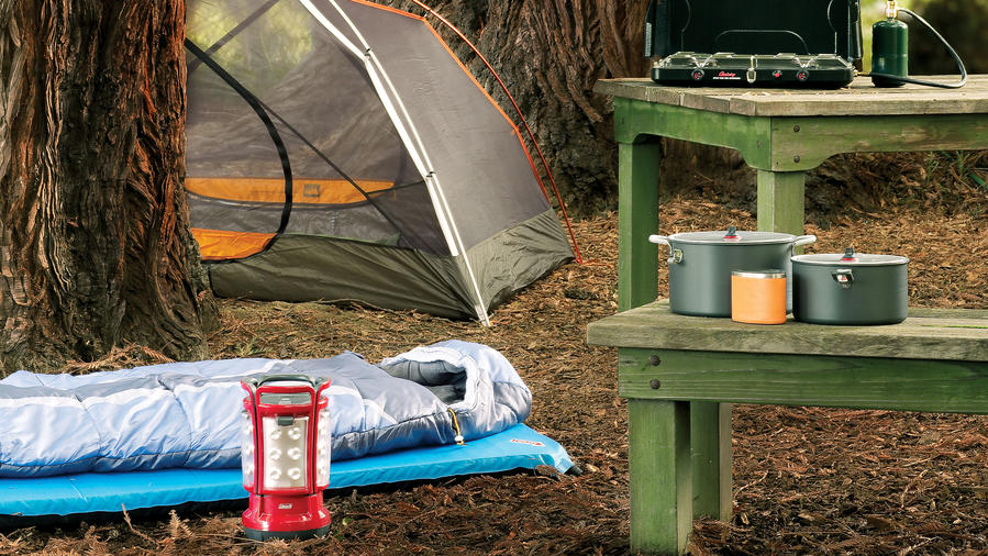 More gear for comfy nights at camp