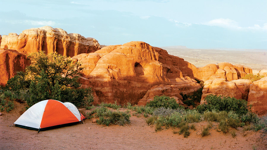 Pitch your tent the West's best campgrounds