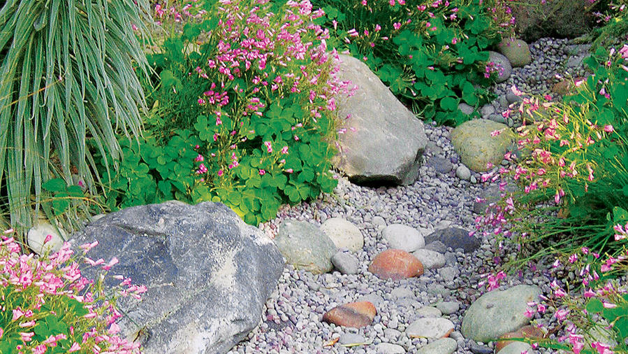 Build your own dry creek bed