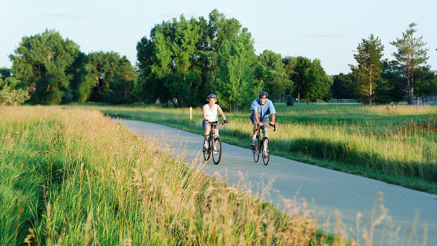 Bike Trail in Fort Collins, Colorado