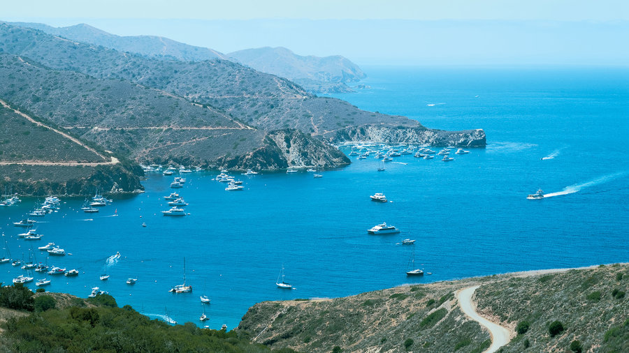 Two Harbors on Catalina Island, CA