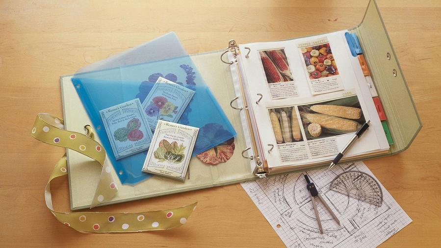 Grow a garden journal