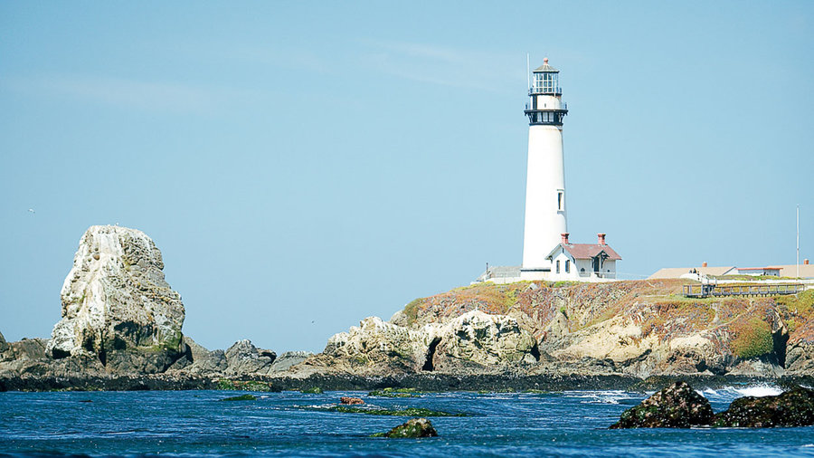 Tour the coast from Half Moon Bay to Santa Cruz, CA