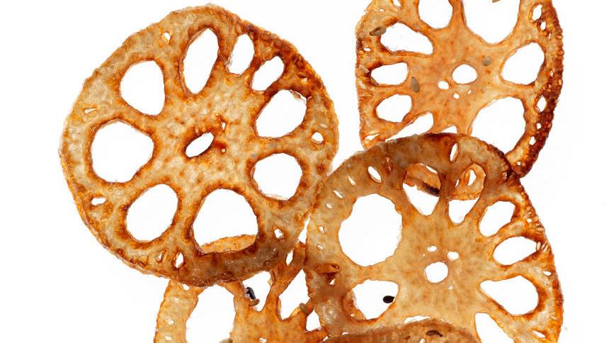 Lotus Root Veggie Chips