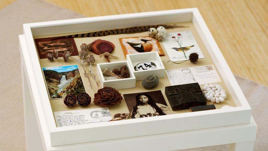 Make a memory box table