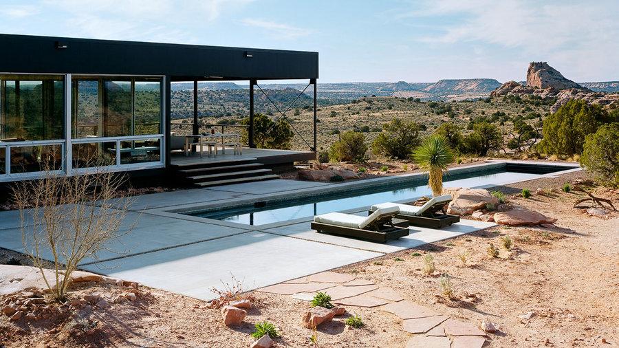 Eco Friendly Desert Home