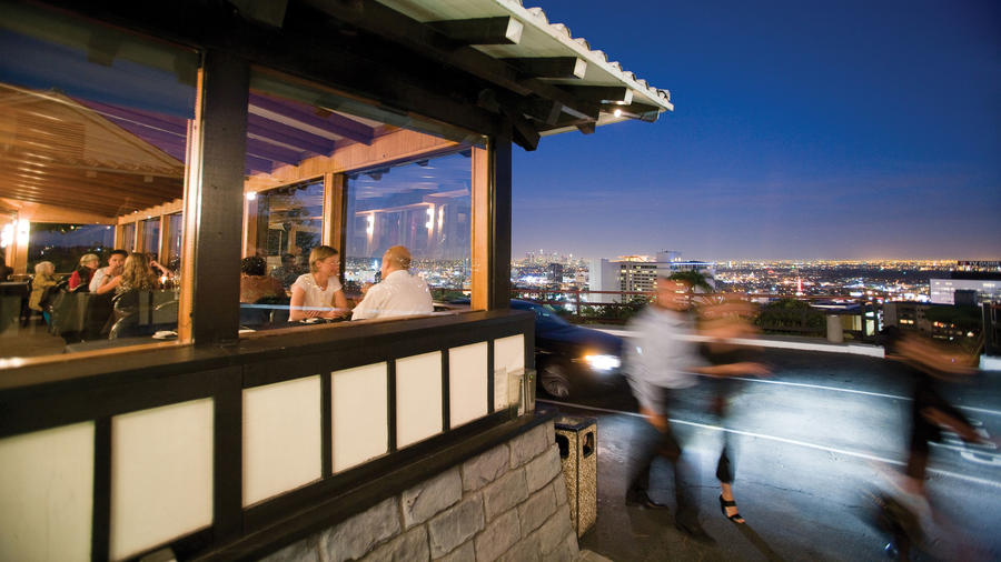 Yamashiro above Hollywood