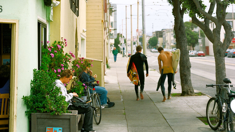 San Francisco's Outer Sunset district