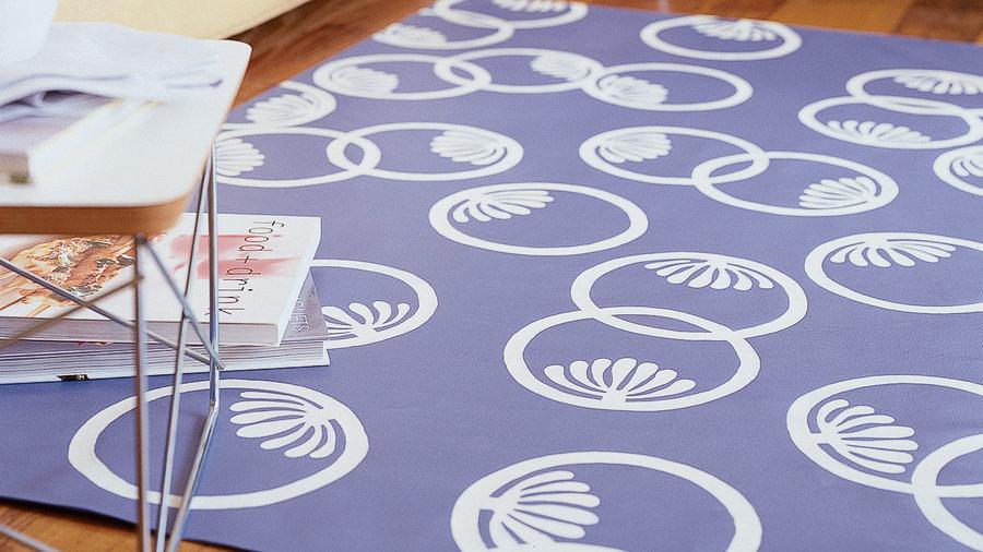 DIY designer floor mat