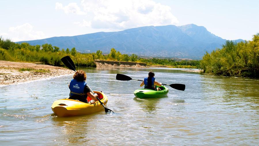 Rio Grande kayaking