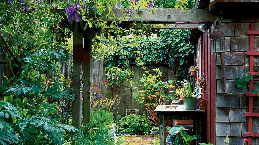Small garden solution