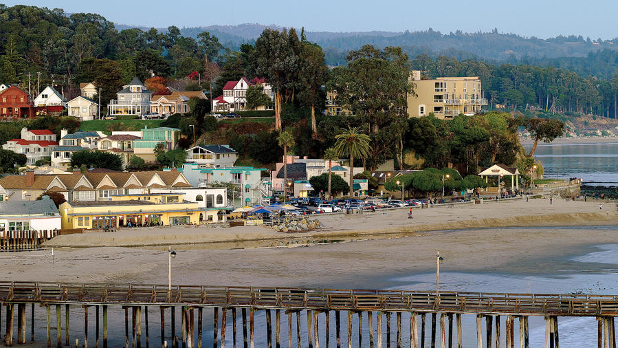 Capitola Wharf and beach