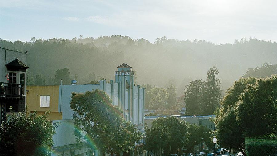The Sequoia Theatre in Mill Valley, California