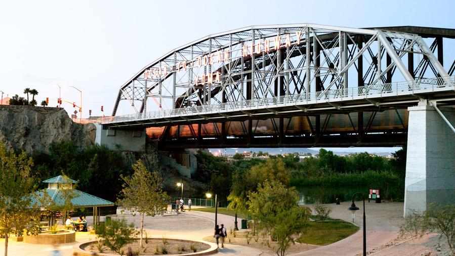 Yuma Waterfront Bridge
