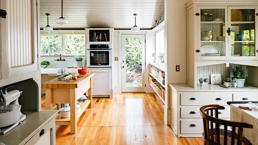 Vintage Modern Kitchens