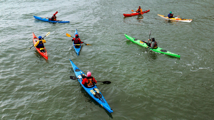 California Canoe & Kayak's Open Coast class