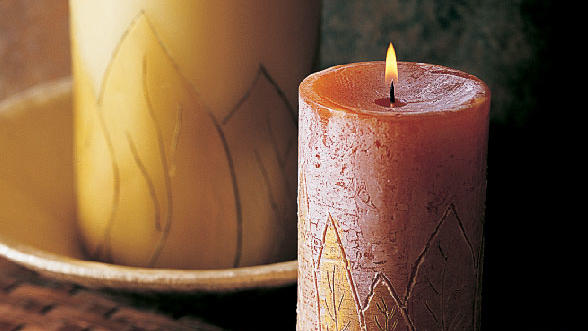 Carved candles<br />