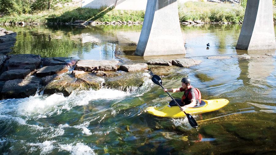 Kayak through Denver, CO