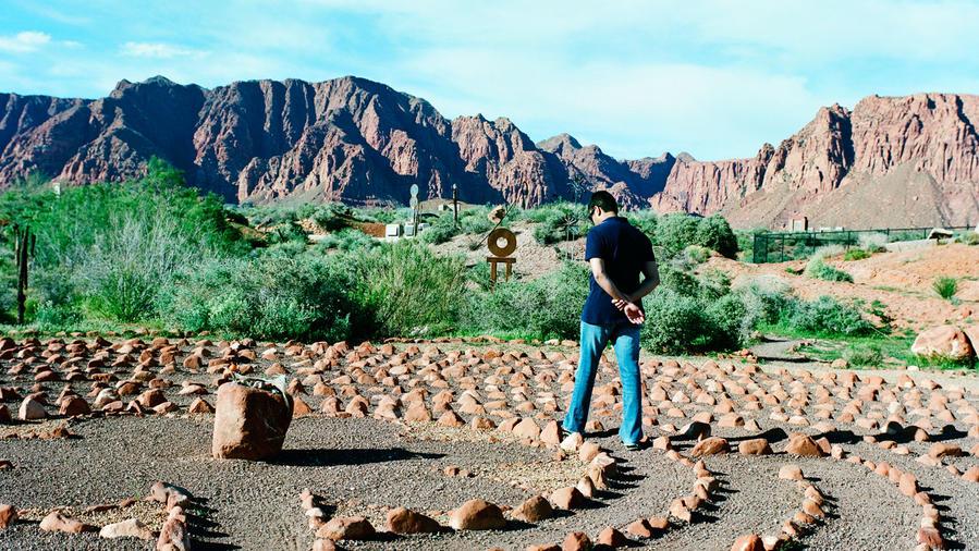 Desert Rose Labyrinth