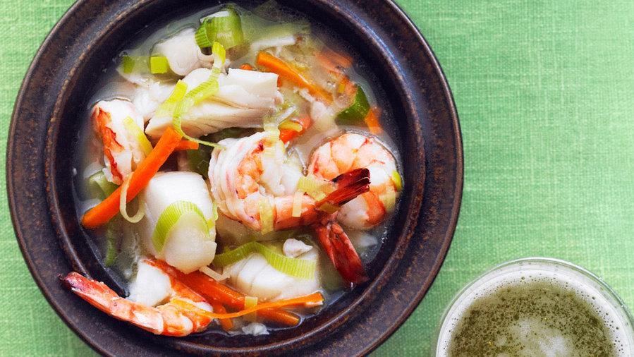 Test Kitchen Seafood Broth