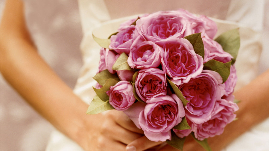 How to make an elegant wedding bouquet