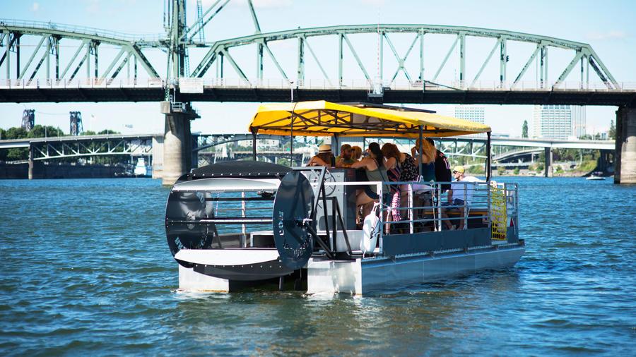 BrewBarge Portland beer cruise