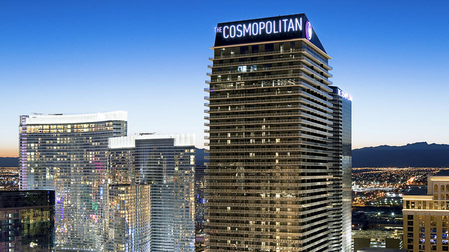 dog-friendly travel at The Cosmopolitan in Vegas