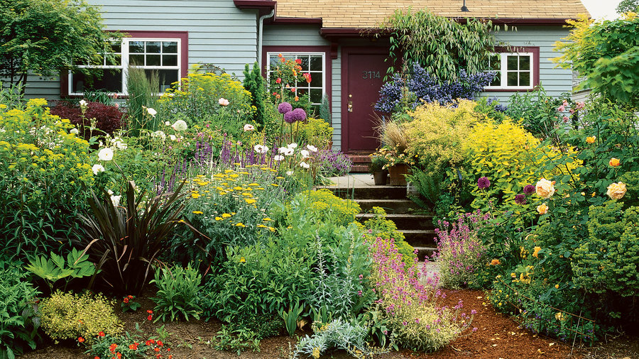 Guide to cottage gardening sunset magazine sunset magazine for Garden design windows 7