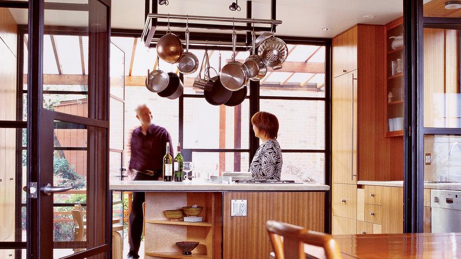 Jewel box kitchen