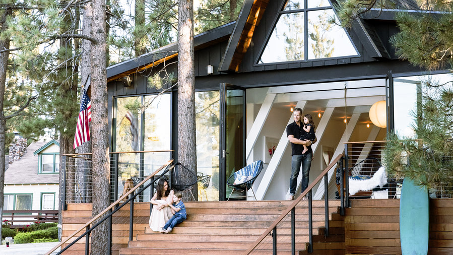 A Frame Cabin Gets An A Makeover Sunset Magazine