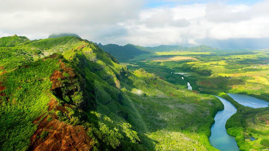 Kauai Haupu Ridge