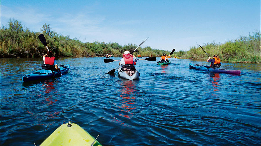 Paddle your own canoe (or kayak) in Yuma