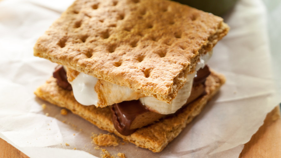 Nutty Banana S'mores