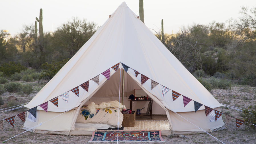 & 10 Great Glamping Tents u0026 Accessories - Sunset Magazine