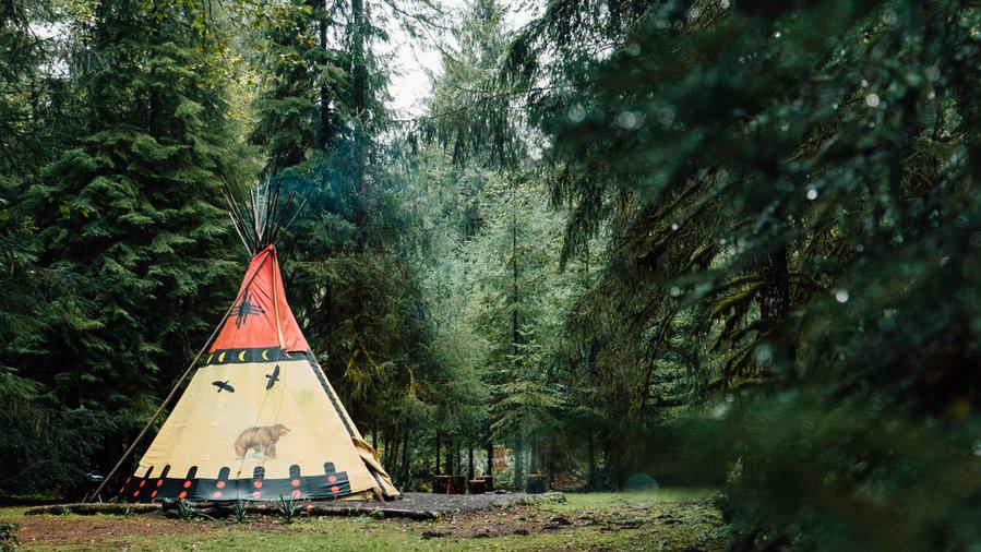 Best Spots For Trailer Amp Yurt Camping Sunset Magazine