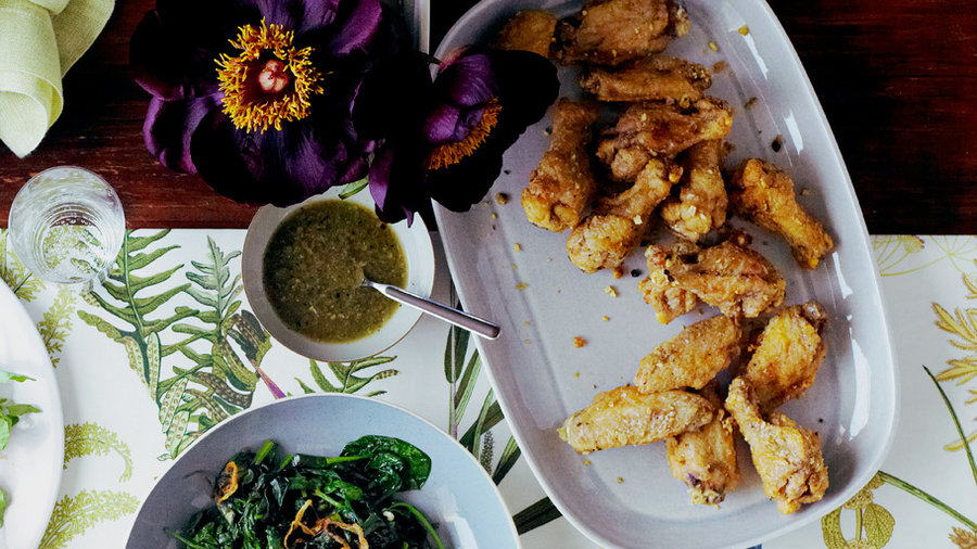 Best of 2012: Salt and Pepper Chicken Wings (1212)