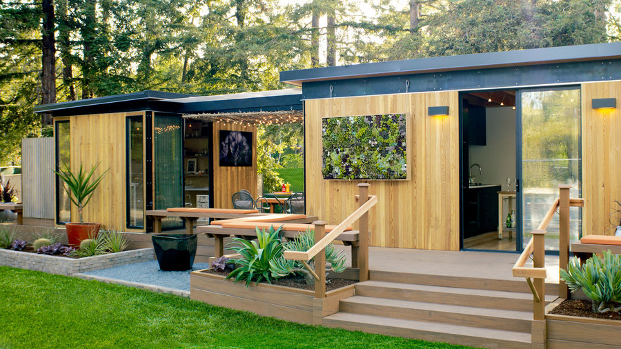 Readymade Backyard Cottage - Sunset Magazine - Sunset Magazine